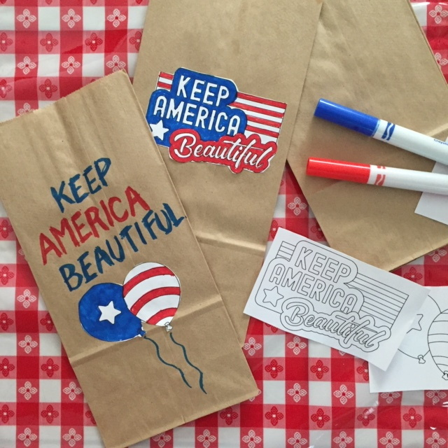 Keep America Beautiful Bags