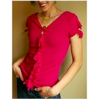 Recycled Knotted Tee Shirt