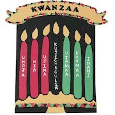 DIY Felt Kwanzaa Banner with pattern