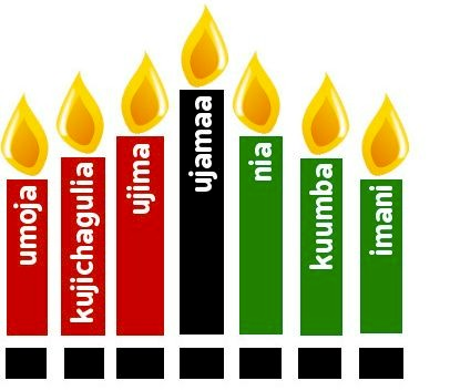 Image of Happy Kwanzaa Card