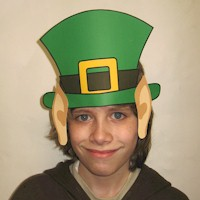 Leprechaun Hat with Pointed Ears