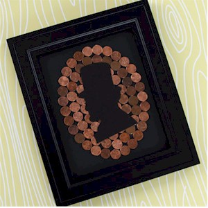 Image of Lincoln Penny Silhouette