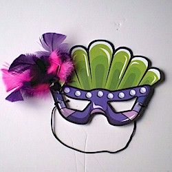 picture about Printable Mardi Gras Masks identified as Printable Mardi Gras Mask