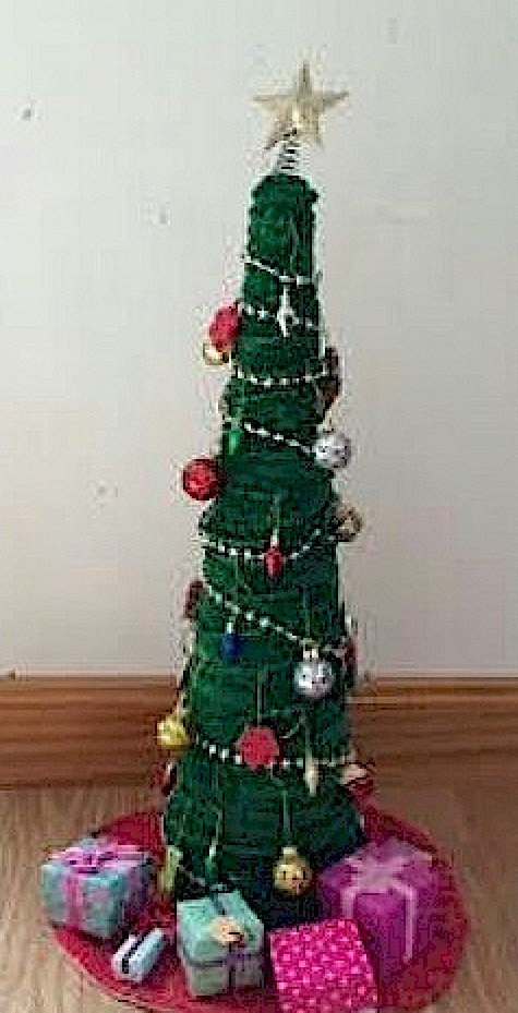 mini pipe cleaner christmas tree - Pipe Cleaner Christmas Tree