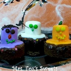 Monster Halloween Brownies