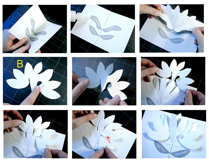 Mothers day flower popup pattern2 free kids crafts mothers day flower popup pattern2 mightylinksfo