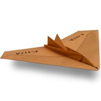 Image of Nighthawk Paper Airplane