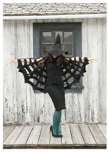 Image of No Sew Spider Costume