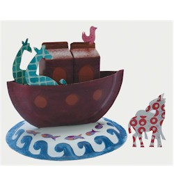 Image of Paper Plate Noahs Ark