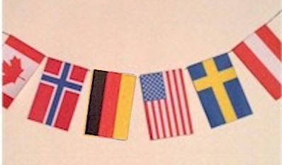 Image of Olympic Flag Crafts