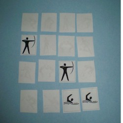 Image of Olympic Memory Game