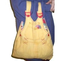 Image of Recycled Overalls Bag