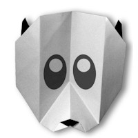 Image of Origami Panda Bear