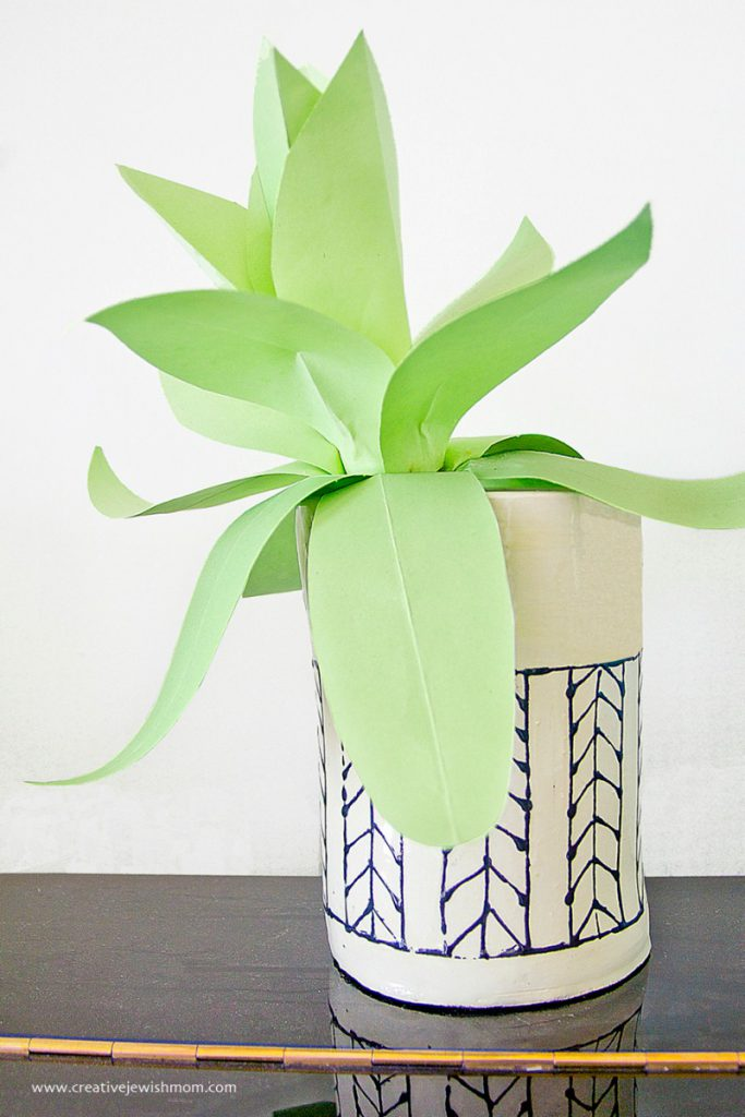 Paper Agave Plant