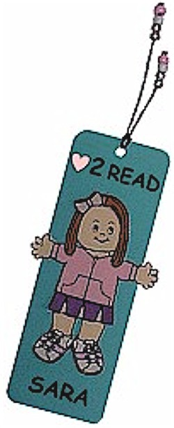 Playtime Paper Doll Bookmark
