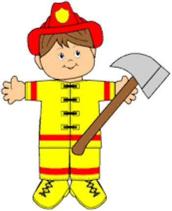 Playtime Firefighter Paper Doll