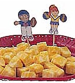 Image of Playtime Football Snack Toothpicks