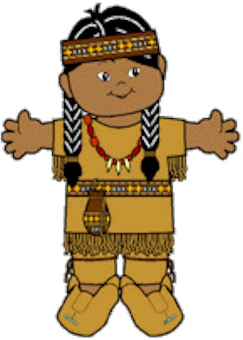 Playtime Native American Paper Doll