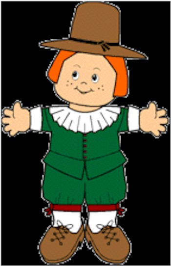 Image of Playtime Paper Doll Pilgrims
