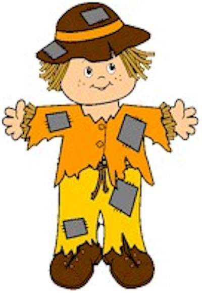 Playtime Paper Doll Scarecrow