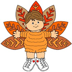 Playtime Turkey Paper Doll