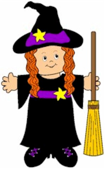 Image of Playtime Paper Doll Witch
