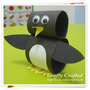Make A Paper Loop Penguin