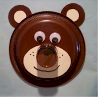 Image of Paper Plate Bear