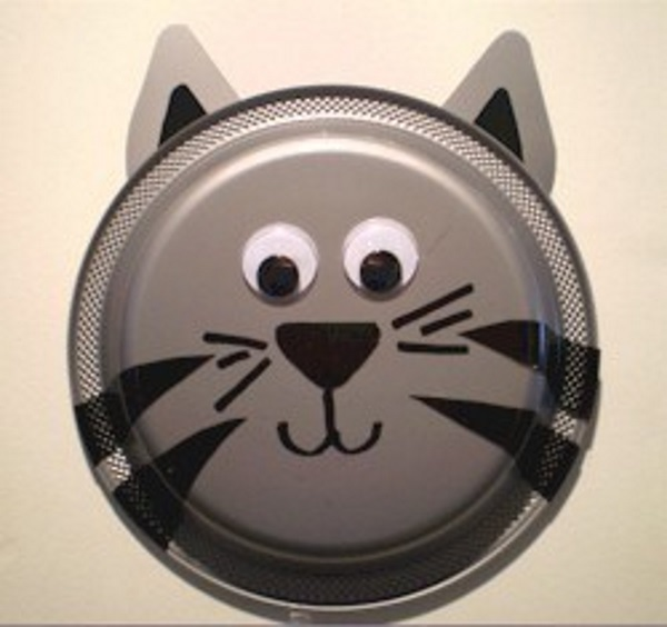 Image of Paper Plate Kitten