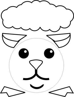 Image of Paper Plate Lamb