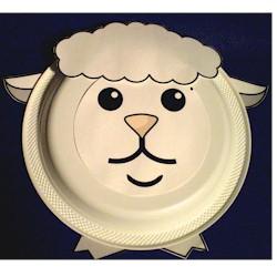 Paper Plate Lamb