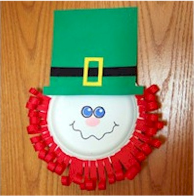 Image of Paper Plate Leprechaun