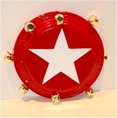 & Paper Plate Tambourine