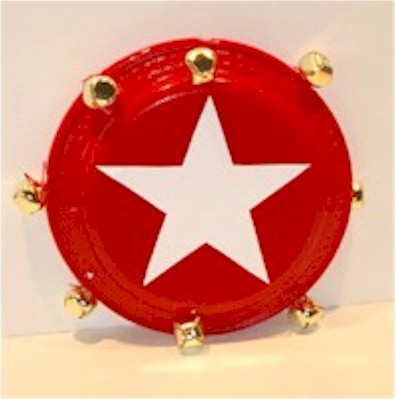 Image of Paper Plate Tambourine