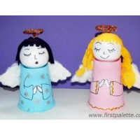 Image of Paper Cup Angels