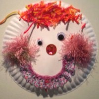 Image of Paper Plate Clown