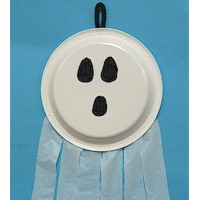 Image of Paper Plate Ghost : paper plate ghost - pezcame.com