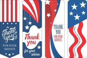 Image of Printable Patriotic Bookmarks