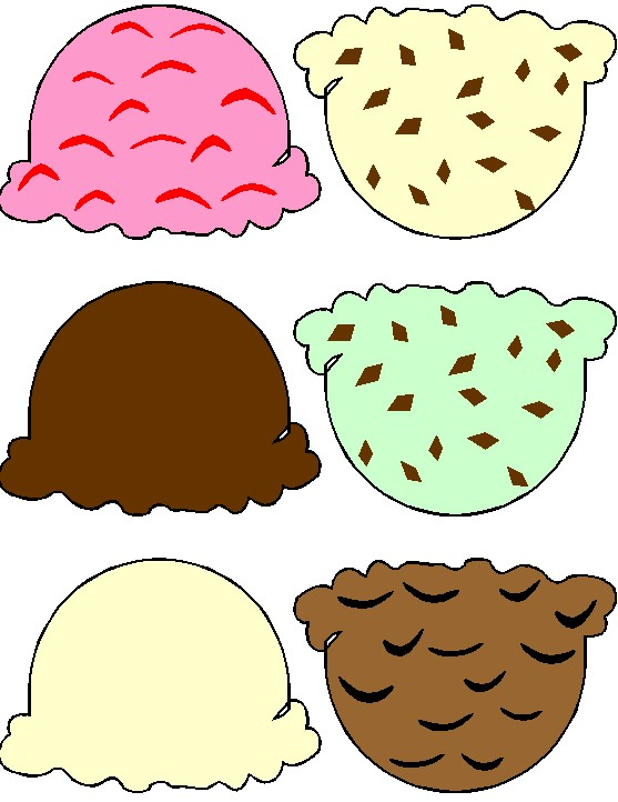 photograph about Ice Cream Template Printable titled Ice Product Cone Printable