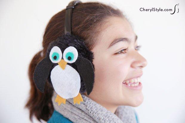 Penguin Ear Muffs