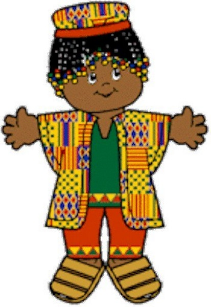 Image of Playtime Kwanzaa Paper Doll