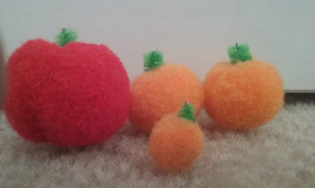 Image of Pom Pom Pumpkins