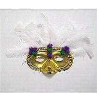 Image of Pom Pom Mardi Gras Mask