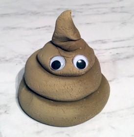 Image of Poop Emoji Pencil Toppers