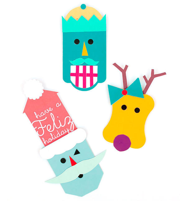 Pop-Up Holiday Gift Tags