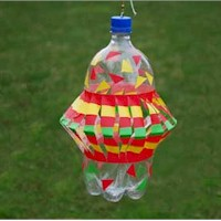 Image of Pop Bottle Wind Spinner