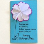 Image of Matching Spring Card and Gift Tag