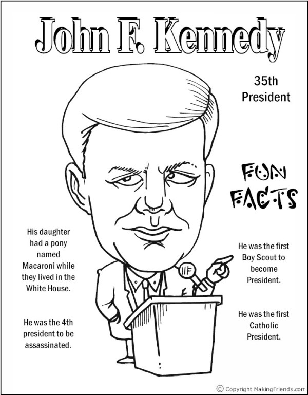presidents coloring pages # 10