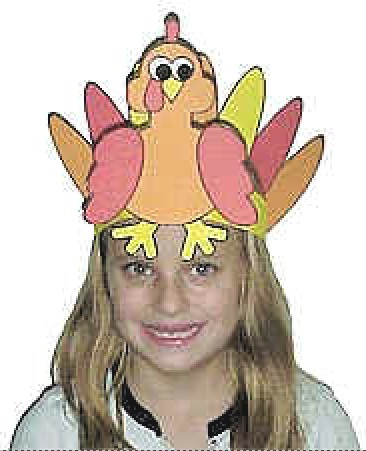 Image of Printable Turkey Hat