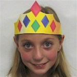 Image of Paper Plate Crown